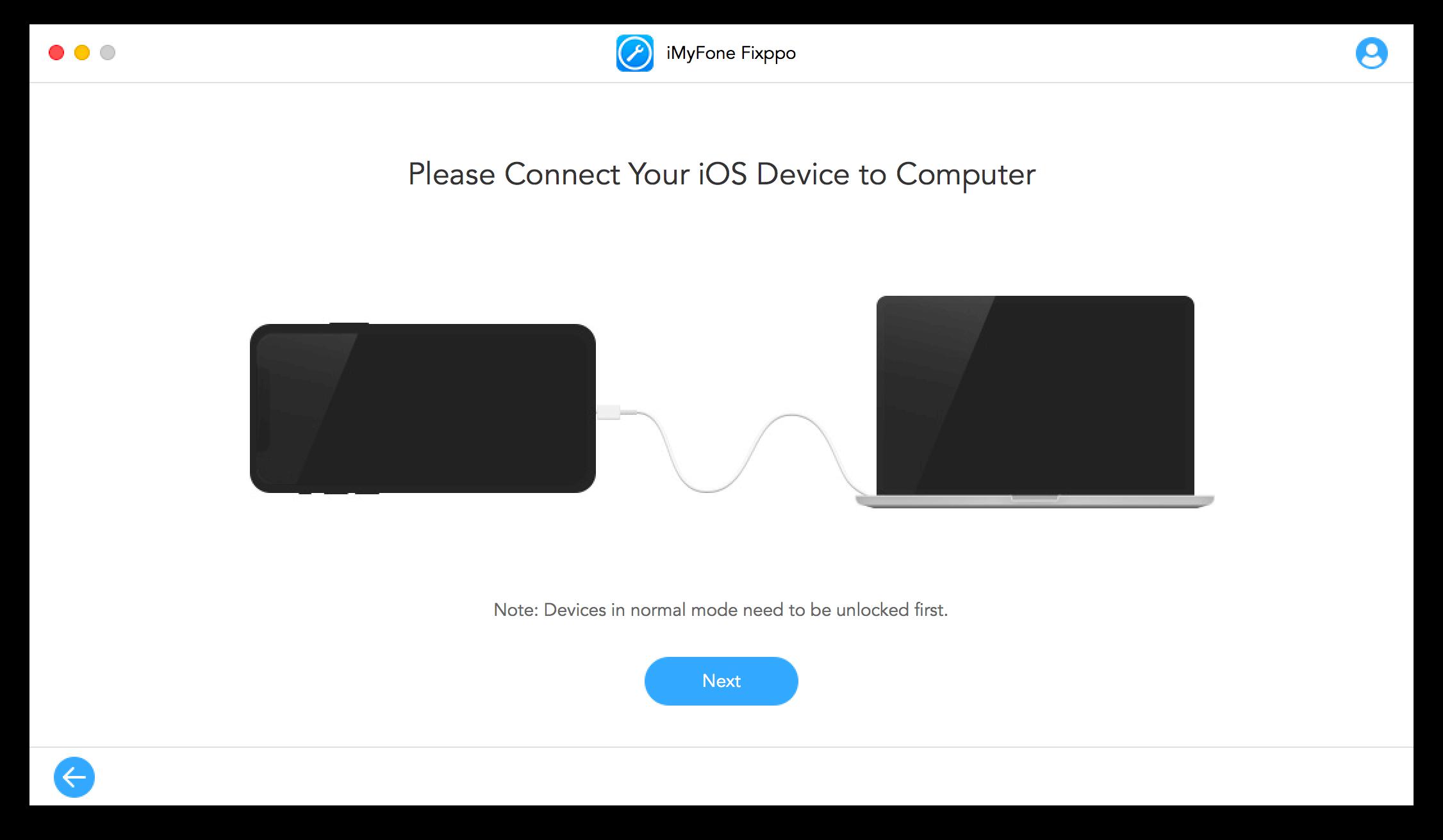 iMyFone Fixppo 修復iOS教學2