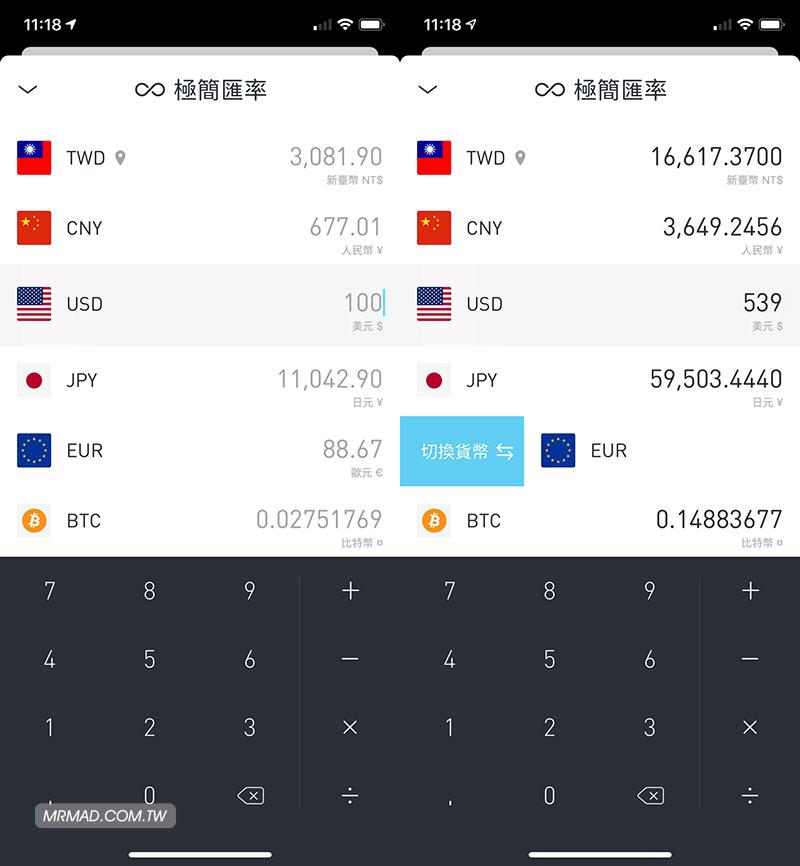 極簡匯率:免費又介面簡潔的匯率換算App購物出國旅遊必裝1