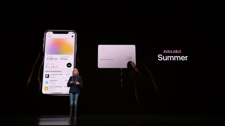 Apple Card:首張「蘋果信用卡」問世