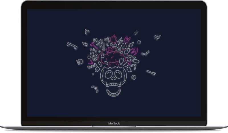WWDC 2019桌布下載 Mac 電腦版本