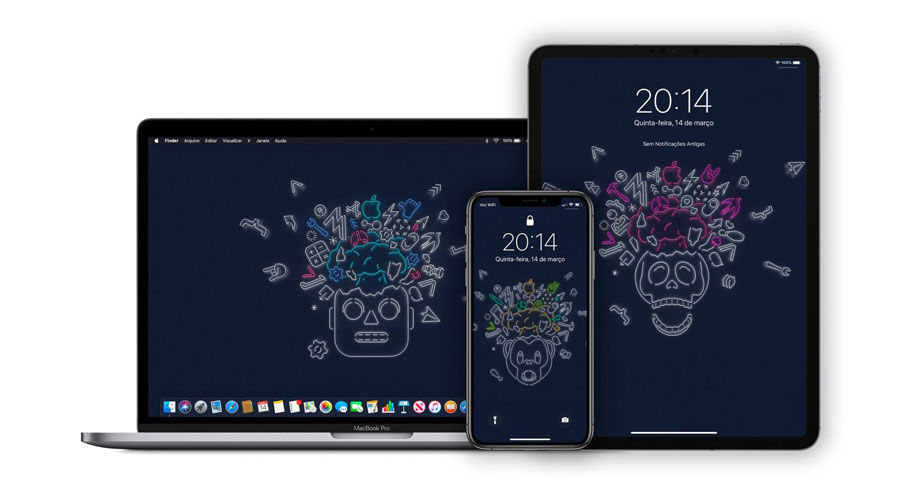 WWDC 2019 桌布下載 iPhone、iPad 及Mac 都可套用