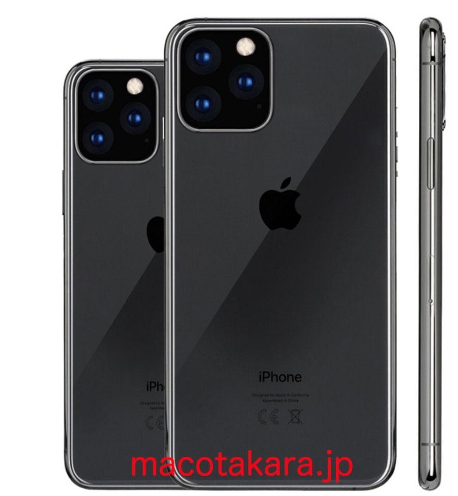 2019 年有兩款iPhone 配備三鏡頭、更大OLED 螢幕和15W USB-C