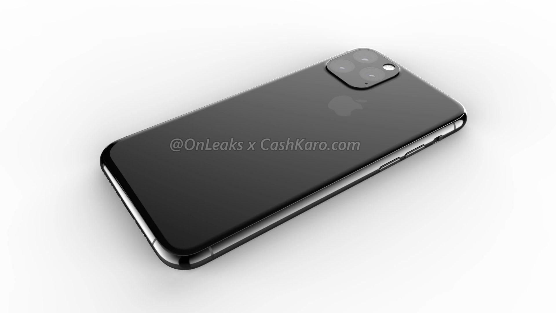 2019 年款 iPhone XI 两大外观改变:三镜头机身背板一体化、静音键改进2
