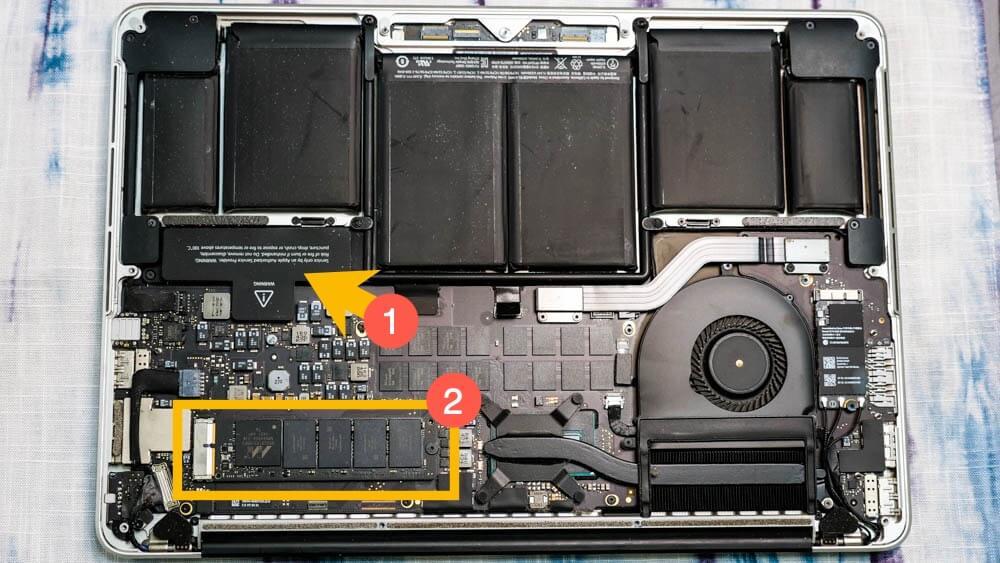 MacBook Pro 2014 SSD 升級和換喇叭教學,教你最省錢的手動升級