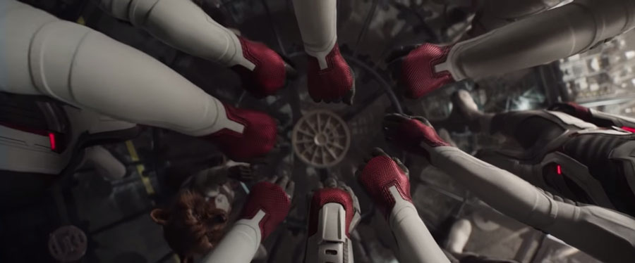 《復仇者聯盟4》中場1分鐘休息片段和新宣傳片「任務」出現