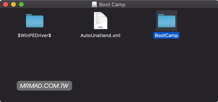 快速下載 BootCamp 驅動技巧3