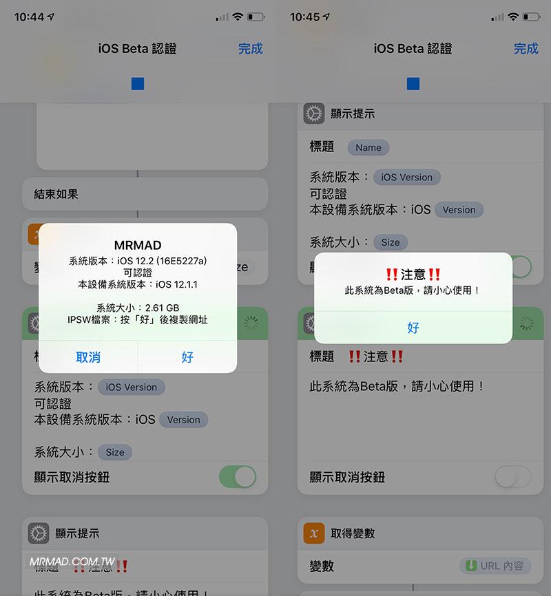 iOS Beta 測試版認證查詢腳本使用教學3