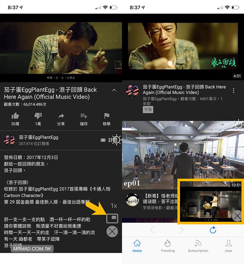 YouTube 去廣告利器 Tube Browser ,支援背景播放、播放清單 iOS 限免