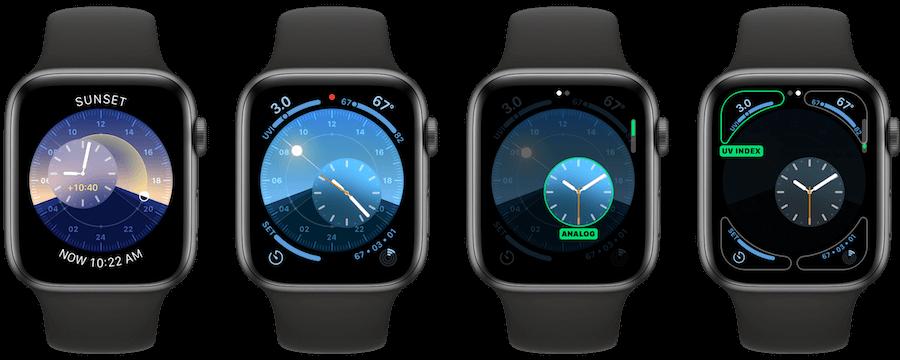 watchOS 6 全新 6 款錶面與新充電動畫曝光!超級精美和酷炫