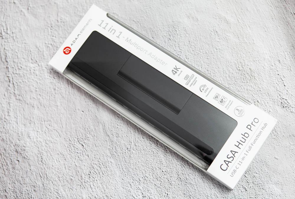 萬用 USB-C 集線器 CASA Hub Pro USB-C 11 port 開箱1