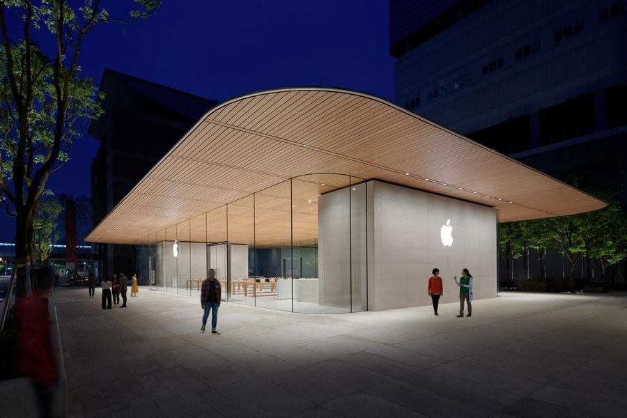 台北第二間蘋果旗艦 Apple 信義A13 內部環境搶先曝光