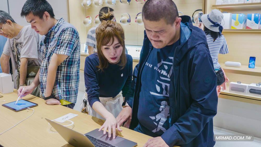 Apple 信義A13 蘋果直營店開幕活動紀錄,非常適合體驗蘋果自然空間38