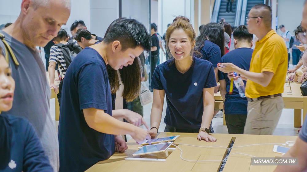 Apple 信義A13 蘋果直營店開幕活動紀錄,非常適合體驗蘋果自然空間35