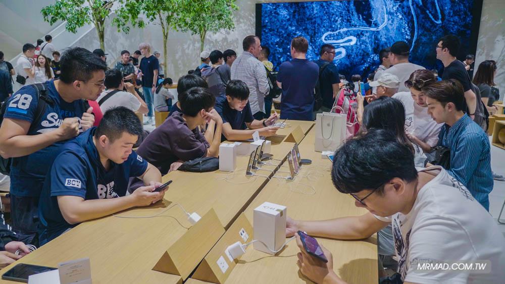 Apple 信義A13 蘋果直營店開幕活動紀錄,非常適合體驗蘋果自然空間32