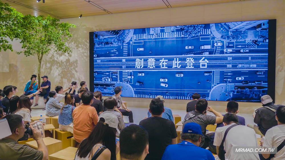 Apple 信義A13 蘋果直營店開幕活動紀錄,非常適合體驗蘋果自然空間25