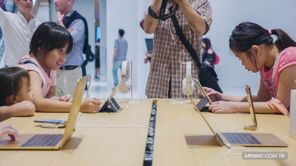 Apple 信義A13 蘋果直營店開幕活動紀錄,非常適合體驗蘋果自然空間33