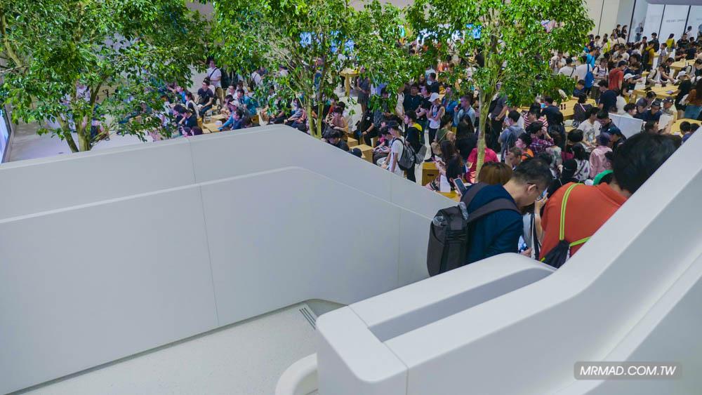 Apple 信義A13 蘋果直營店開幕活動紀錄,非常適合體驗蘋果自然空間23