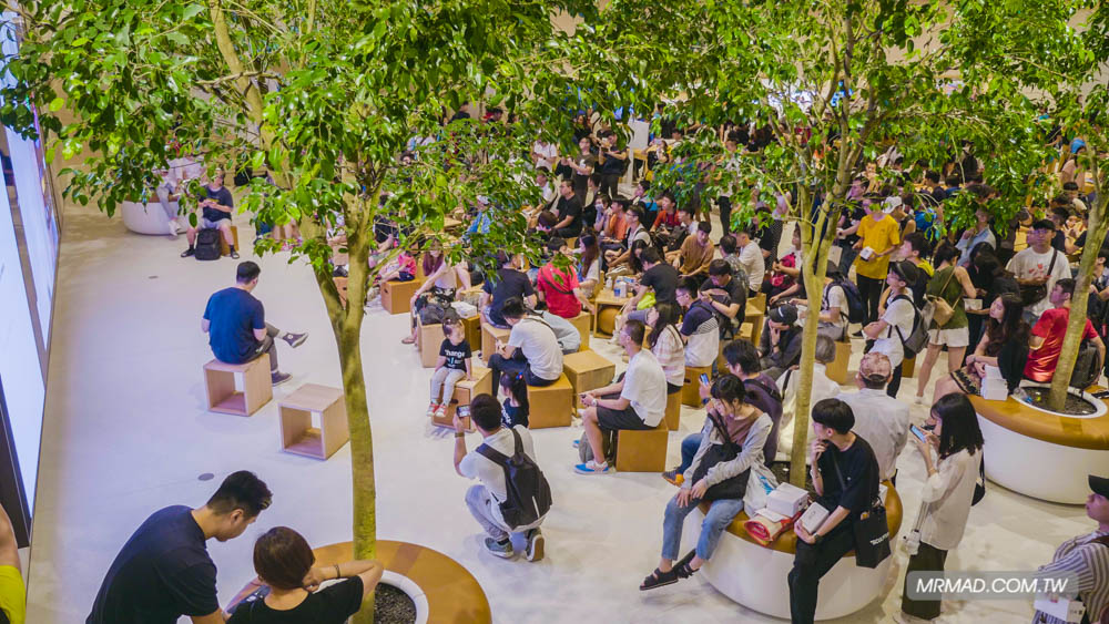 Apple 信義A13 蘋果直營店開幕活動紀錄,非常適合體驗蘋果自然空間24