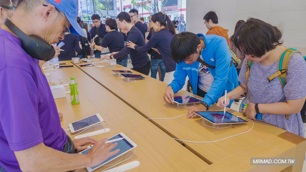 Apple 信義A13 蘋果直營店開幕活動紀錄,非常適合體驗蘋果自然空間11