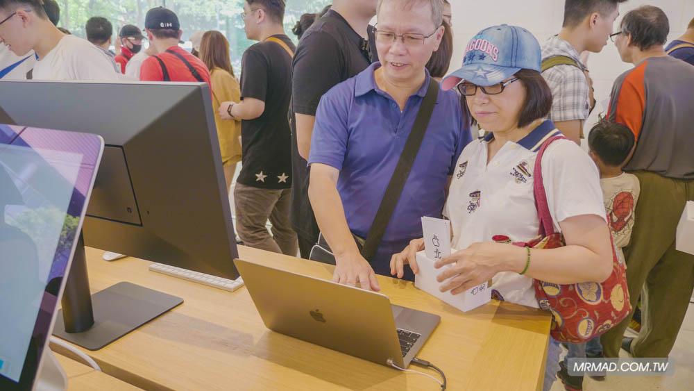 Apple 信義A13 蘋果直營店開幕活動紀錄,非常適合體驗蘋果自然空間13