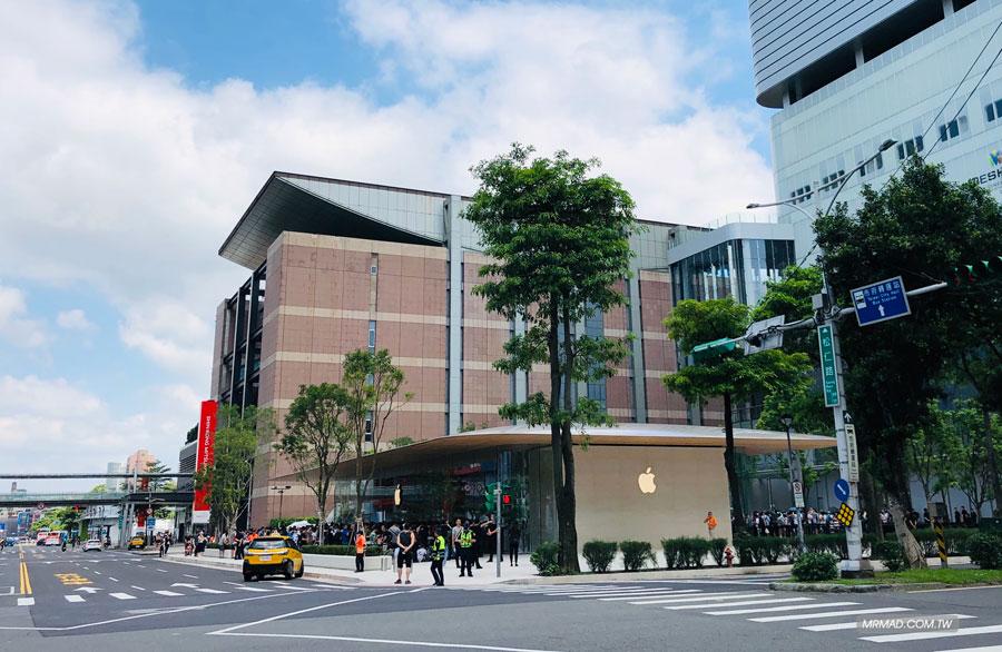 Apple 信義A13 蘋果直營店開幕活動紀錄,非常適合體驗蘋果自然空間1