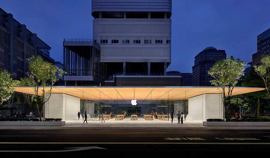 台灣 Apple 信義A13 蘋果直營店外圍,你沒注意到的5大亮點