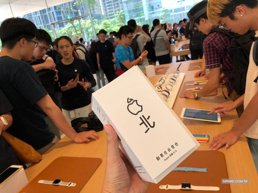 Apple 信義A13 蘋果直營店開幕活動紀錄,非常適合體驗蘋果自然空間7