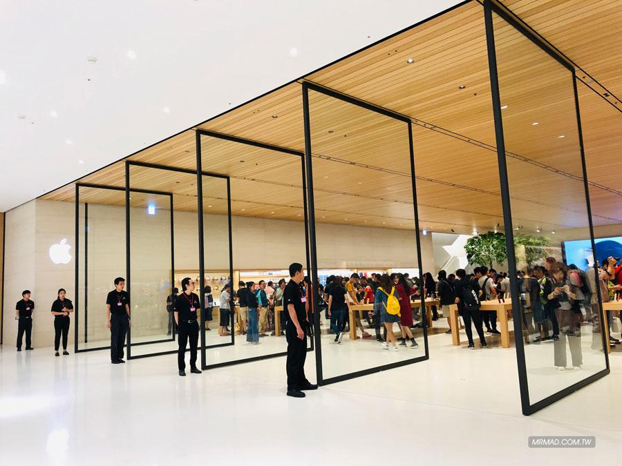 Apple 信義A13 蘋果直營店開幕活動紀錄,非常適合體驗蘋果自然空間39