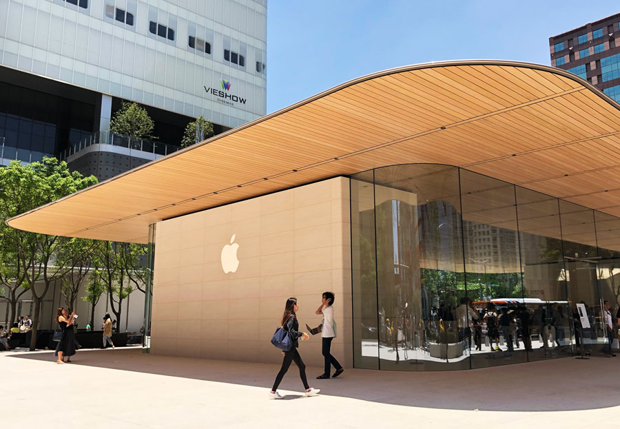 Apple 信義A13 蘋果直營店開幕活動紀錄,非常適合體驗蘋果自然空間