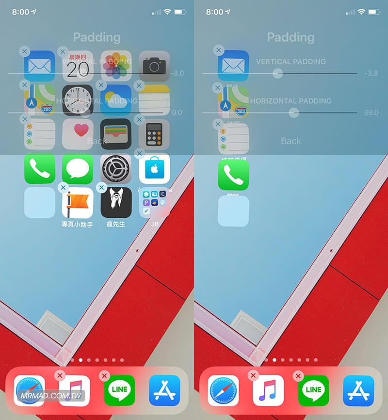 Cuboid 隨意自由調整 iOS 主畫面圖示排列工具2
