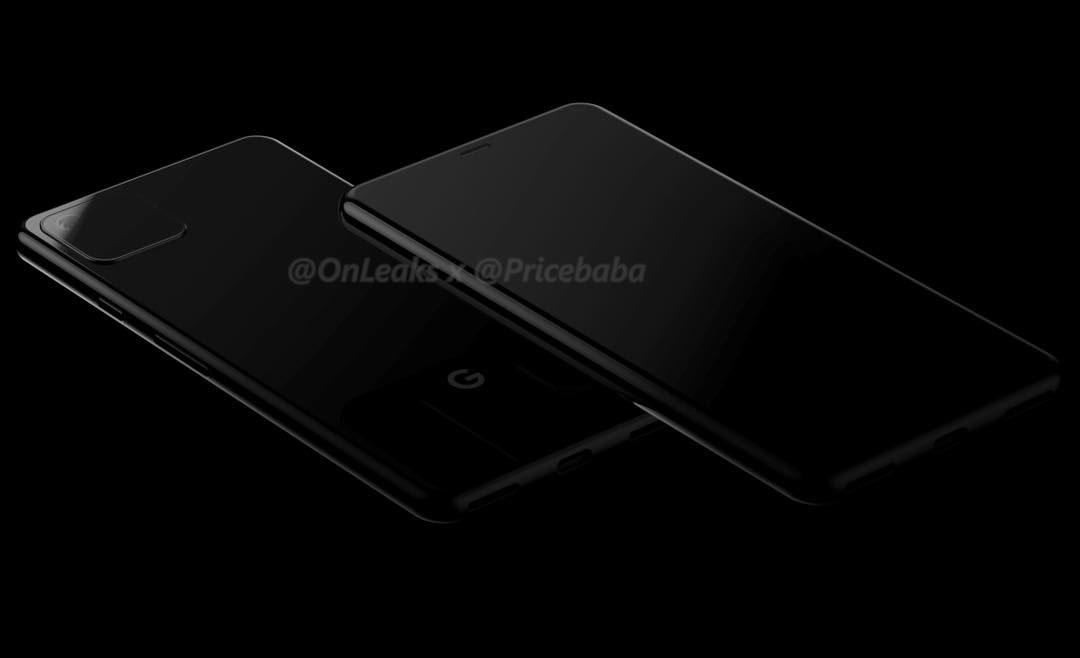 Google 自爆 Pixel 4 鏡頭設計圖,跟 2019 年款 iPhone 外型雷同1