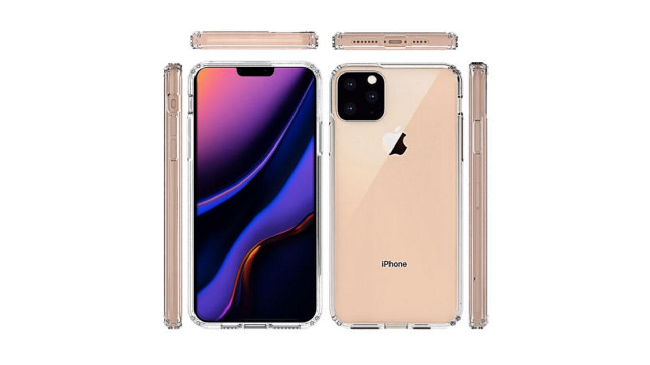 iPhone 11 Max 保護殼廠商搶先曝光外型設計,方形三鏡頭和圓形靜音鍵