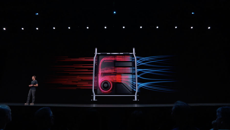 Mac Pro 蘋果主機散熱架構