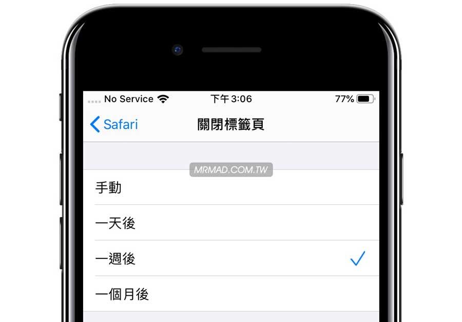如何替 iPhone 和 iPad 設定 Safari 自動關閉分頁3