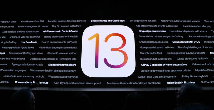iOS 13 、iPadOS 開發者測試 Beta1 韌體 iPSW 下載