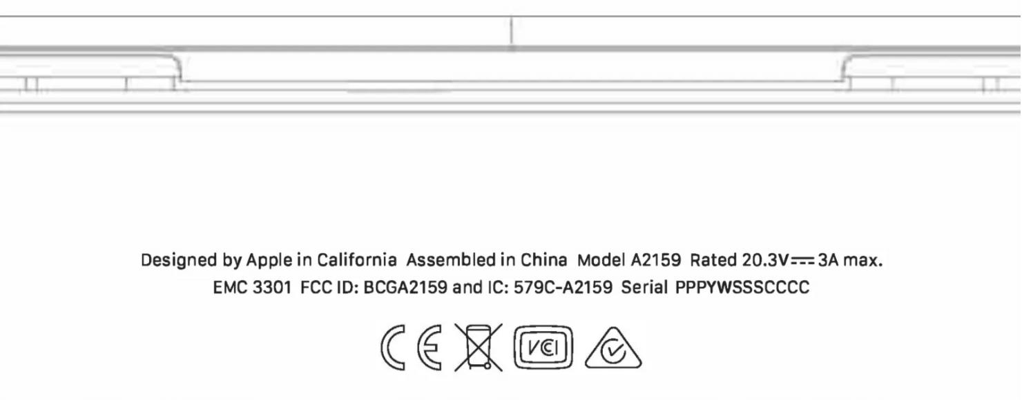 新款 13吋 MacBook Pro 已經通過 FCC認證資料