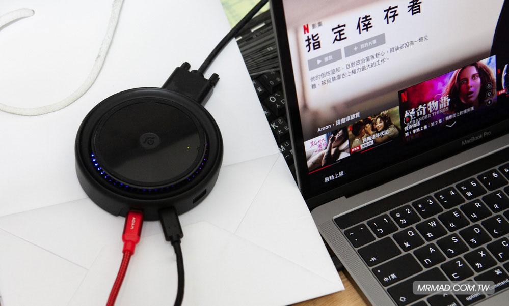 影像輸出 HDMI、VGA 訊號都通吃1