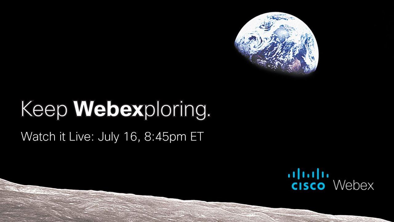 慶祝人類登月50周年 Cisco助阿波羅太空探索團隊重聚 全球現場直播!