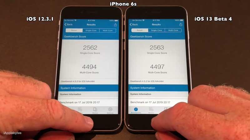iOS 13 Beta 有比較快嗎? iOS 13 beta4 vs iOS 12.3.1 速度測試告訴你