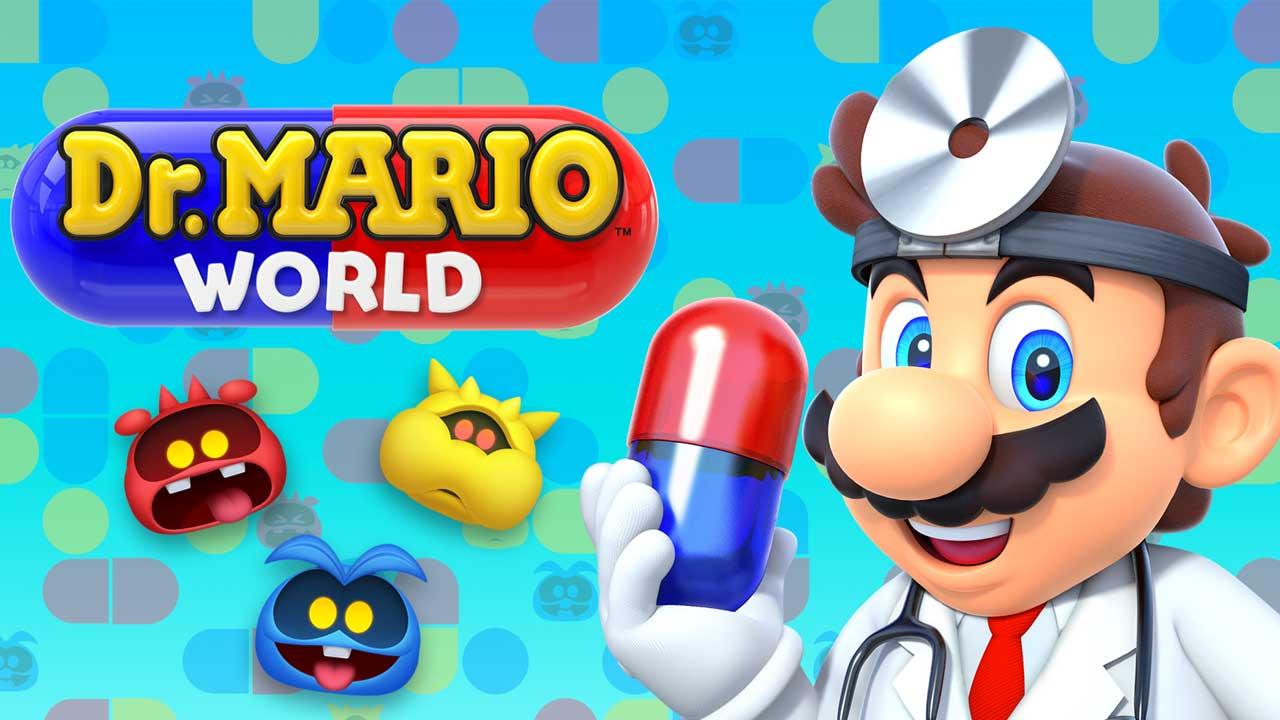 瑪利歐醫生世界 iOS、Android 雙平台正式上架,一起找好友來消滅病毒吧!