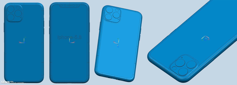 2019 三款新iPhone CAD 設計圖1