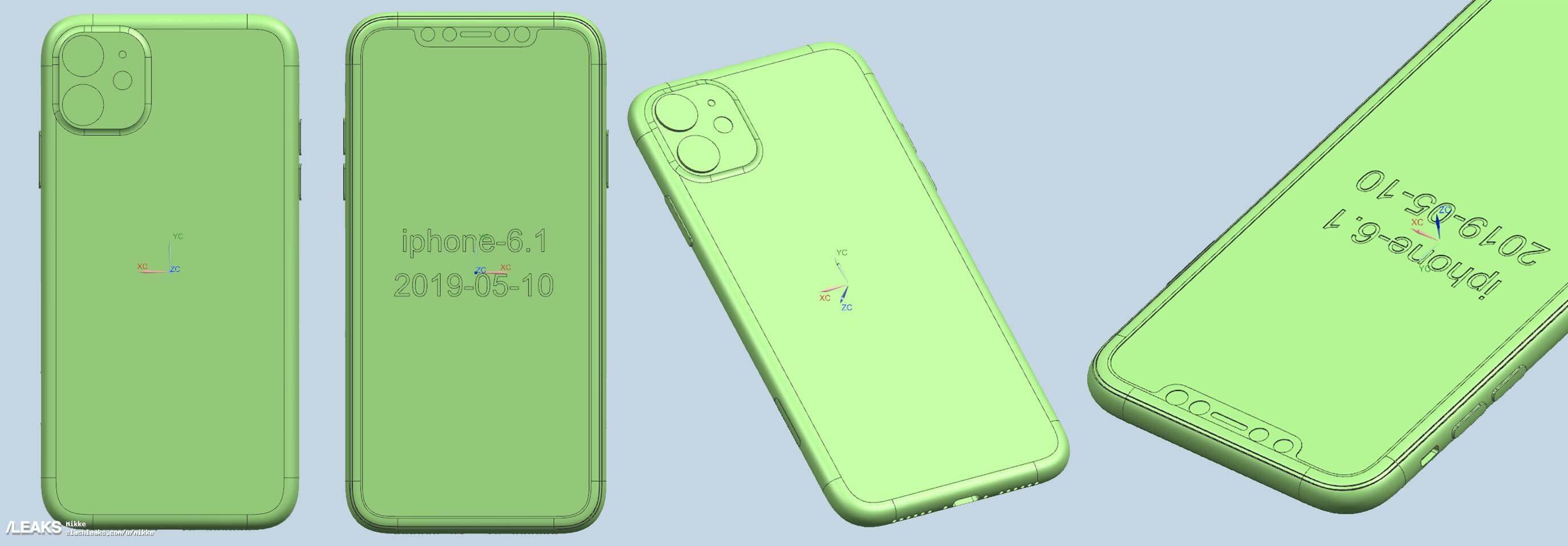 2019 三款新iPhone CAD 設計圖3
