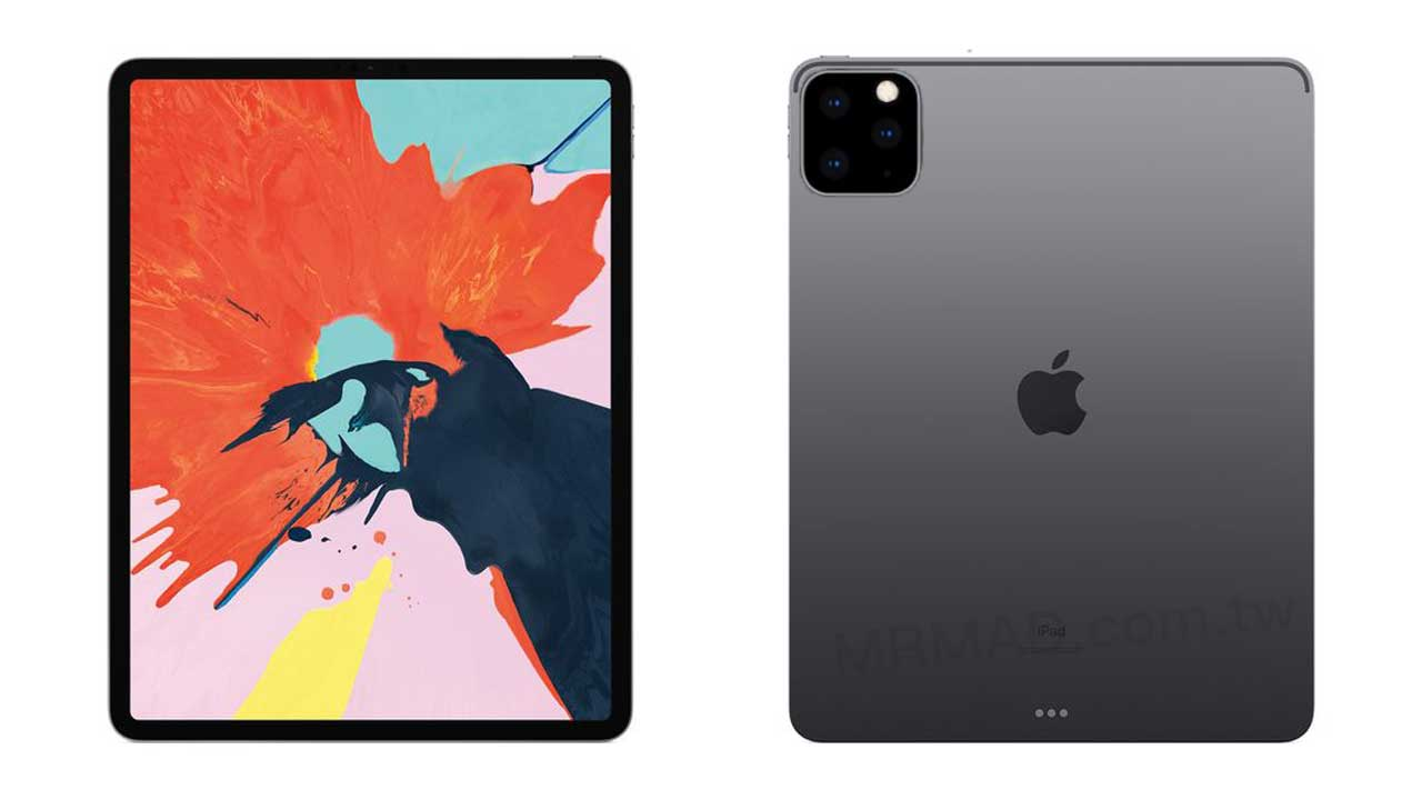 2019 iPad Pro 傳將搭載三鏡頭設計,與 iPhone 11 三鏡頭類似