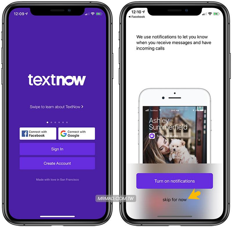 免費美國電話號碼產生工具 Textnow 教學1