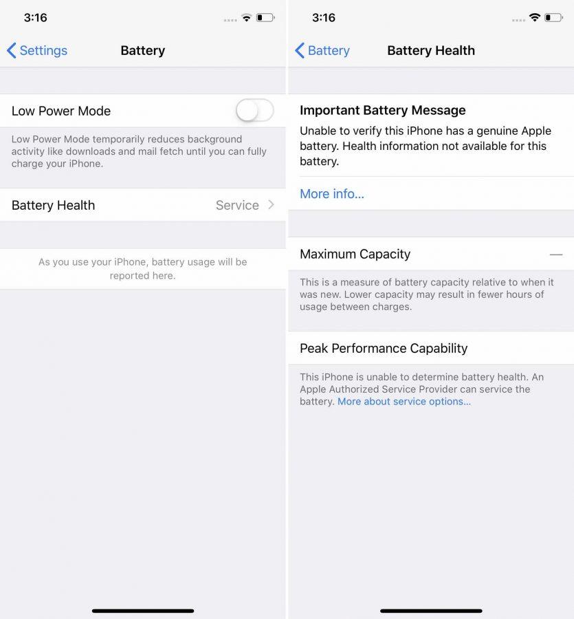 蘋果電池壟斷再現! iPhone 換電池採第三方就會導致失去某項功能