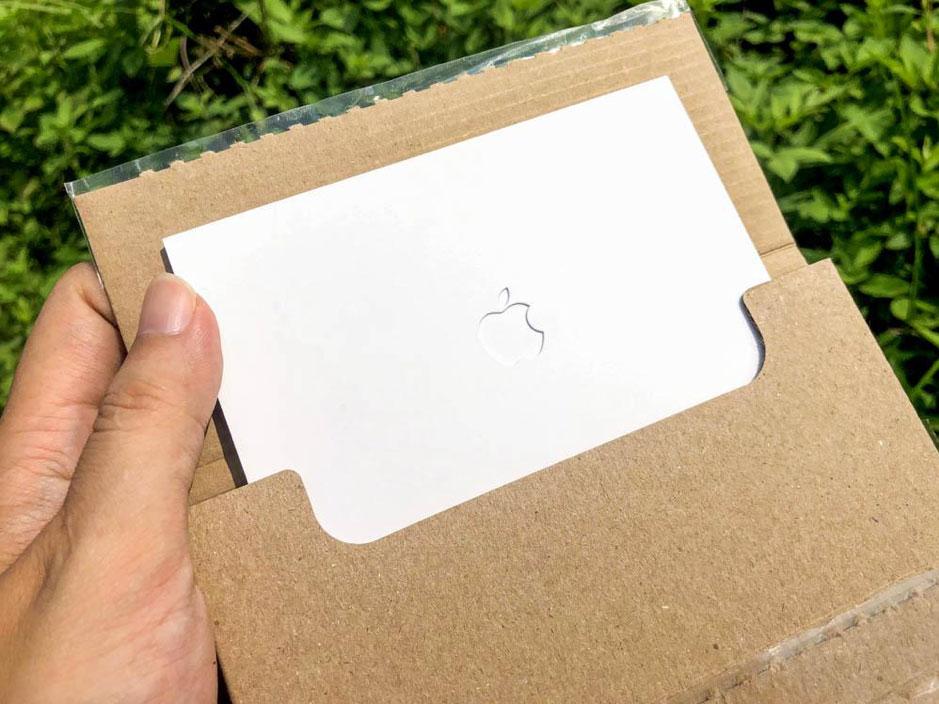 Apple Card 開箱2