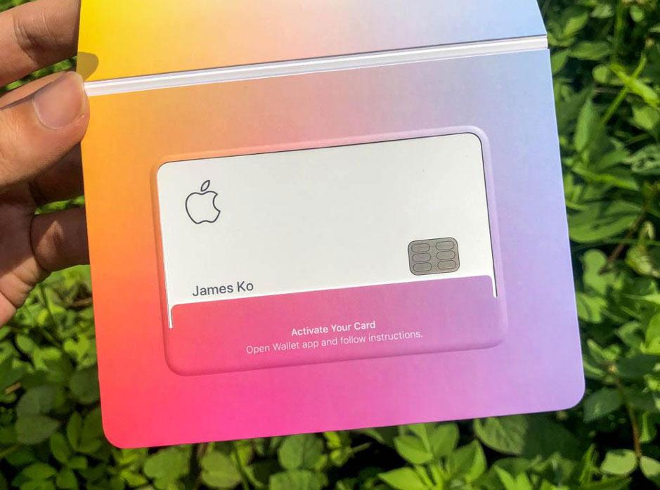 Apple Card 開箱5
