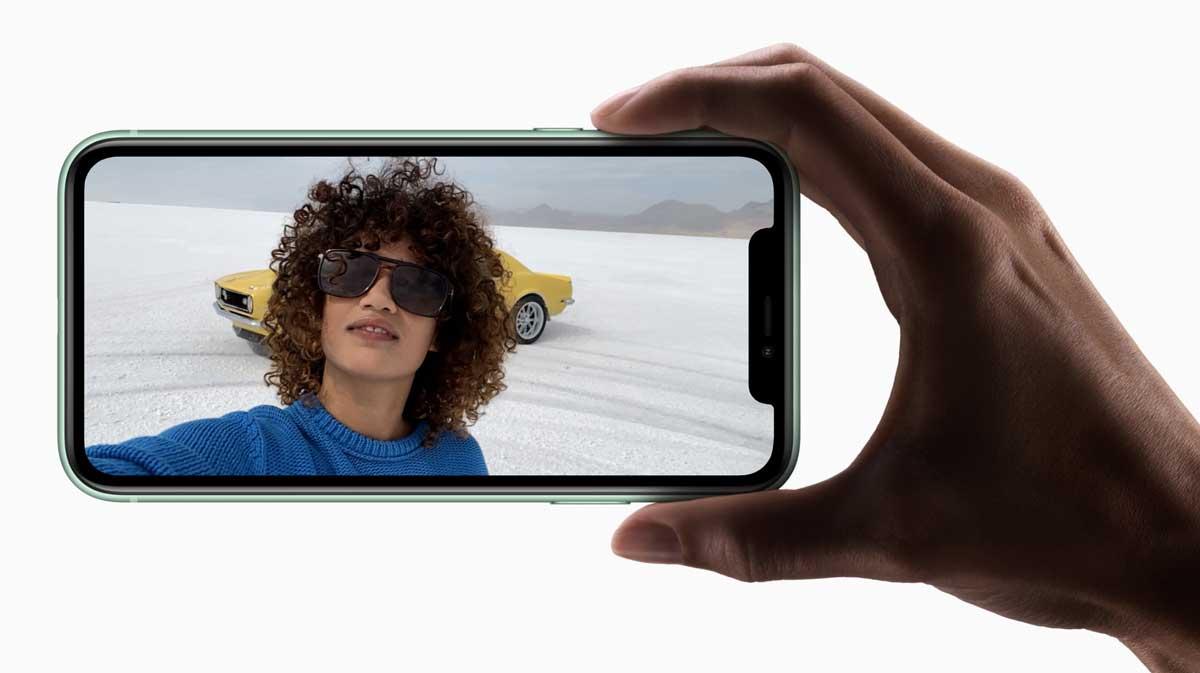 iPhone 11 前鏡頭慢動作