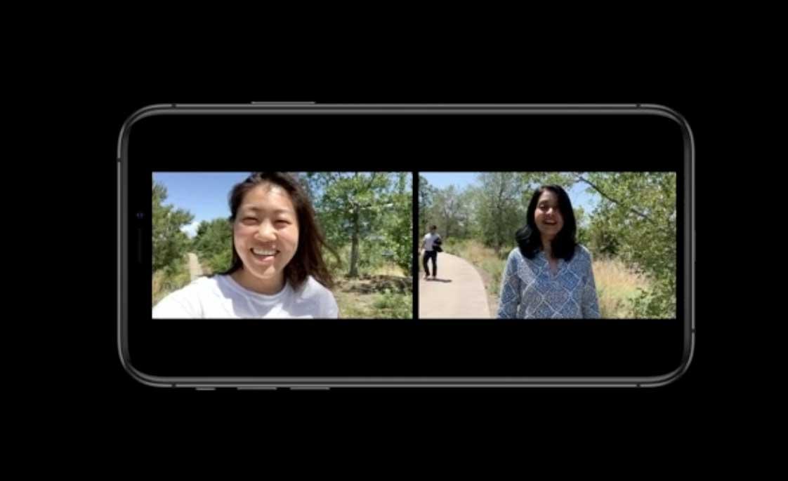 iOS 13 開放的 API 能夠實現多鏡頭錄製