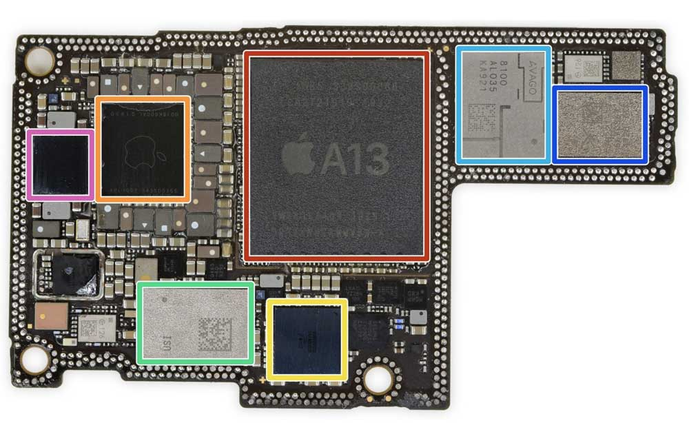 iPhone 11 Pro Max 主機板